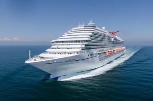 Fincantieri presentata a monfalcone carnival breeze for Quali cabine sono disponibili sulle navi da crociera