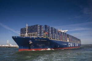 The CMA CGM KERGUELEN