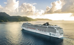 2 March 2019, MSC Magnifica at Pago Pago